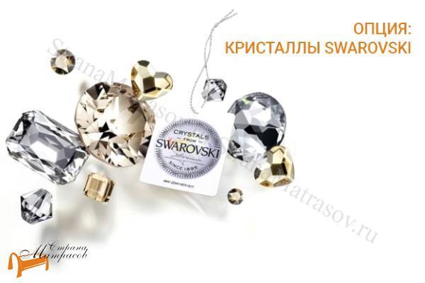 Verda Зеркало Luxe , кристаллы Swarovski