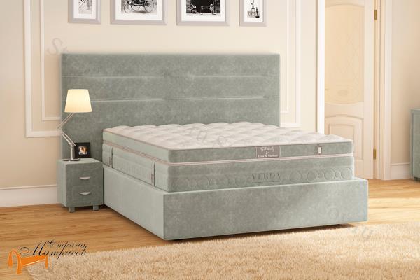 Verda Кровать Modern с основанием Island M , спальная система modern, verda, island, шоколад, серый, белый, графит, черный, красный, зеленый