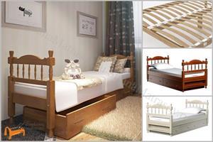 DreamLine - Кровать Юниор с выкатными ящиками (с основанием)