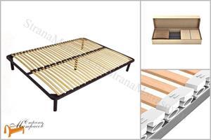 DreamLine - Основание для кровати Active Best разборное металлическое с ножками