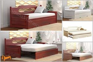 DreamLine - Кровать Тахта трансформер Неаполь (с основанием)