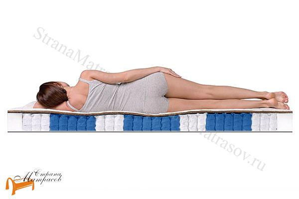 DreamLine Ортопедический матрас Sleep Smart Zone , Дримлайн, пружинный блок