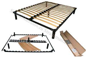 Орматек - Основание для кровати металлическое разборное с ножками