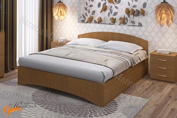 Промтекс-Ориент Кровать Рено 1 , ЛДСП, основание, черный, красный, оранжевый, желтый